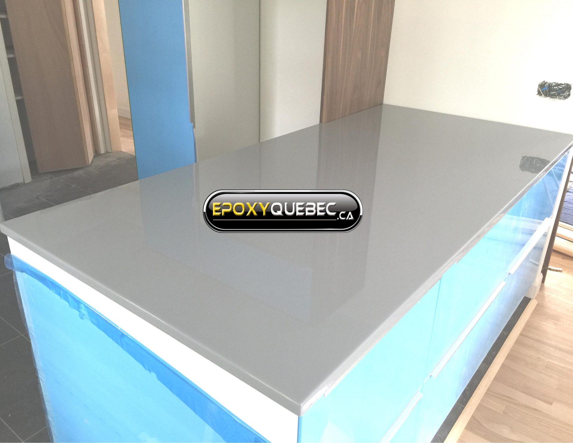 Comment Installer Un Comptoir De Cuisine comptoir - epoxy québec